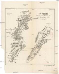 Chs. Texiers Route im östlichen Kleinasien 1836