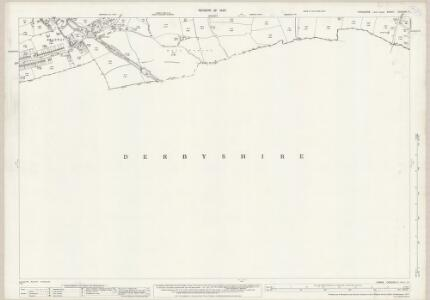 Yorkshire CCXCVIII.11 (includes: Dronfield; Sheffield) - 25 Inch Map