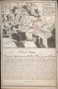 Plan Von der Siegreichen Schalcht welche die Königlich Preusischen Armee, unter den Befehlen des Regierenden Herrn Herzogs von Braunschweig über die Franzöische Freiheits Armee des Generals Moreau bey Pirmasens den 14ten September 1793 erfochten hat
