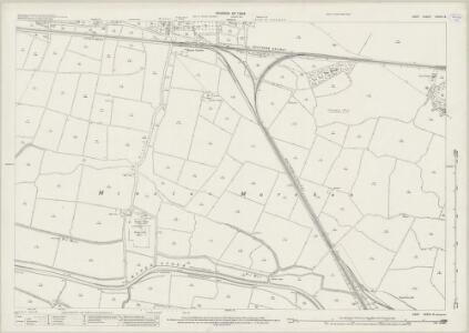 Kent XXXVII.6 (includes: Ash; Minster) - 25 Inch Map