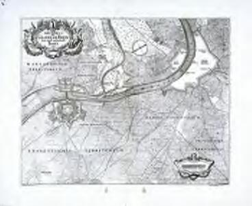 Grundriss der Gegend am Rhein bey und unterhalb Basel
