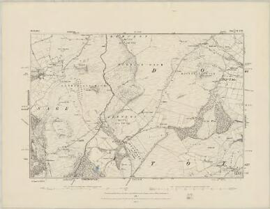 Derbyshire IX.SE - OS Six-Inch Map