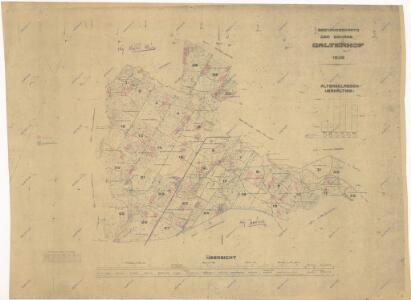 Porostní mapa revíru Jalový Dvůr (Branka)