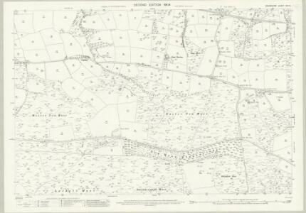 Devon XXIII.6 (includes: East Anstey; Knowstone; Molland; West Anstey) - 25 Inch Map