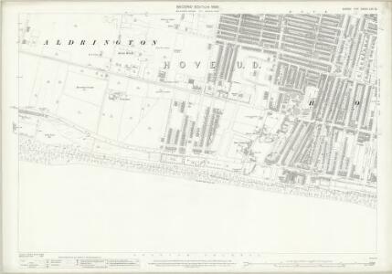 Sussex LXV.12 (includes: Aldrington; Hove) - 25 Inch Map