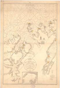 Museumskart 190: Kart ovèr den norske kyst fra söröen til nordkap