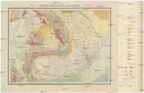 Harta geologică a României