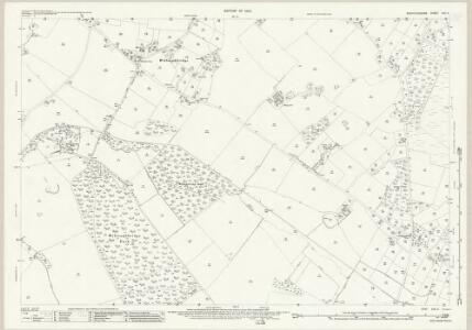 Staffordshire XXII.4 (includes: Ashley; Maer; Mucklestone) - 25 Inch Map