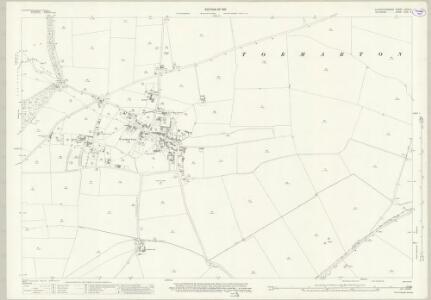 Wiltshire XVIII.4 (includes: Dodington; Nettleton; Tormarton) - 25 Inch Map