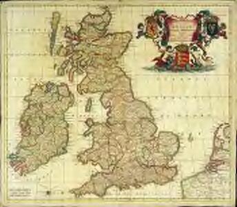 Novissima et accuratissima totius Angliæ, Scotiæ et Hiberniæ tabula