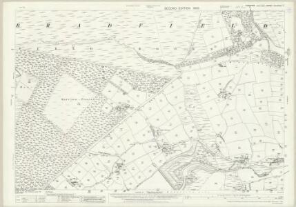 Yorkshire CCLXXXVII.11 (includes: Bradfield) - 25 Inch Map