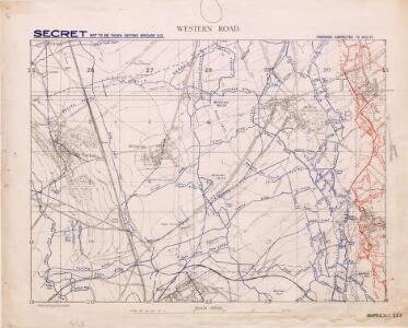 Western Road. Secret. December 1917