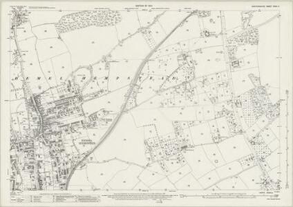 Hertfordshire XXXIII.8 (includes: Hemel Hempstead) - 25 Inch Map