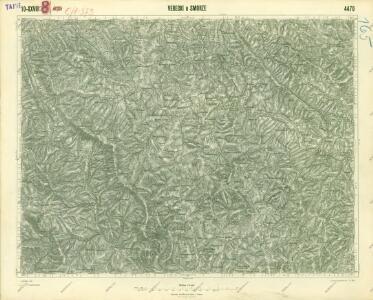 III. vojenské mapování 4470