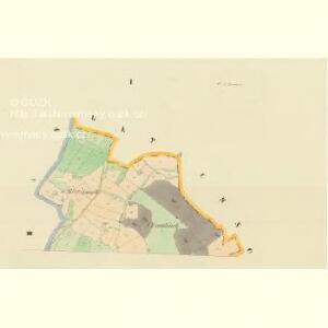 Brod - c0517-1-001 - Kaiserpflichtexemplar der Landkarten des stabilen Katasters