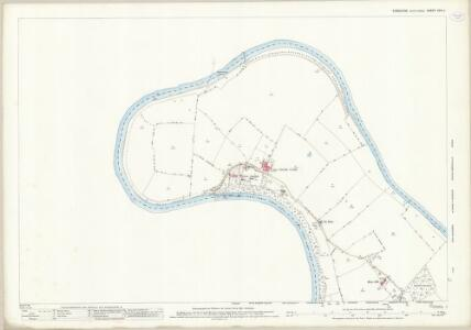 Yorkshire XXVI.4 (includes: Low Dinsdale; Middleton St George; Neasham; Over Dinsdale) - 25 Inch Map