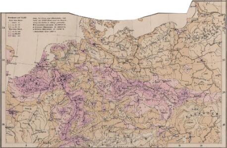 Mitteleuropa Volksdichte