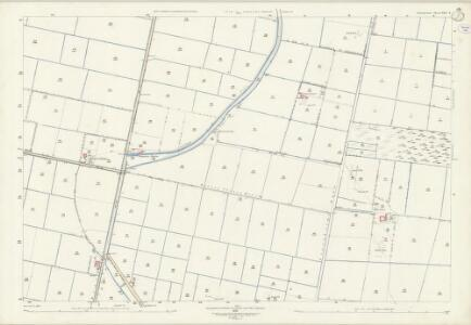 Lincolnshire XXV.9 (includes: Haxey; Wroot) - 25 Inch Map