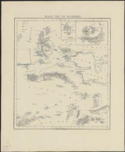 Kaart van de Molukken