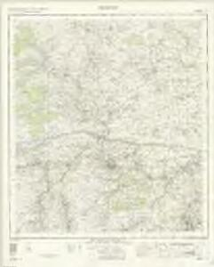 Hexham - OS One-Inch Map