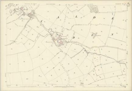 Huntingdonshire IX.6 (includes: Denton and Caldecote; Folksworth and Washingley; Glatton; Stilton) - 25 Inch Map