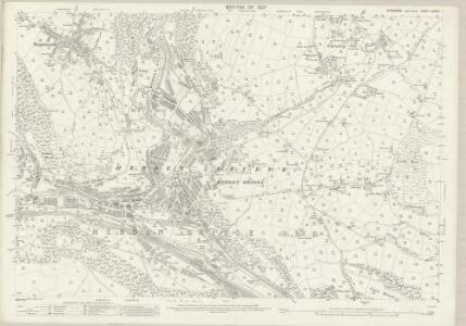 Yorkshire CCXXX.1 (includes: Erringden; Hebden Royd; Heptonstall; Wadsworth) - 25 Inch Map