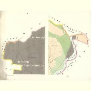 Ostrau Pohlnisch (Polsko Ostrawa) - m2784-1-001 - Kaiserpflichtexemplar der Landkarten des stabilen Katasters