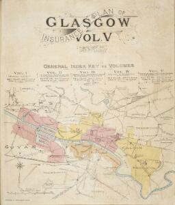 Insurance Plan of Glasgow Vol. V Key Plan 1