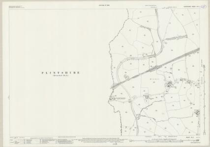 Shropshire VII.7 (includes: Bronington; Is Coed; Whitchurch Rural; Whitchurch Urban) - 25 Inch Map