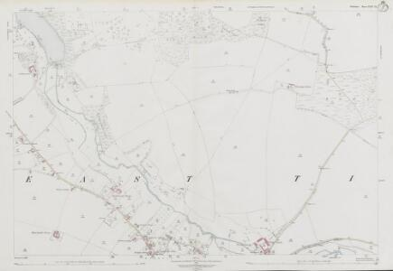 Wiltshire LXIV.11 (includes: Chilmark; Tisbury) - 25 Inch Map