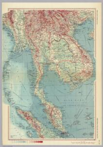 Indonesia, Thailand and Malaya.  Pergamon World Atlas.