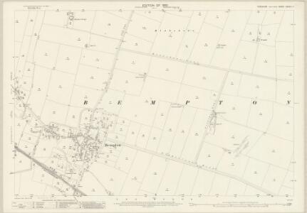 Yorkshire CXXVIII.7 (includes: Bempton) - 25 Inch Map