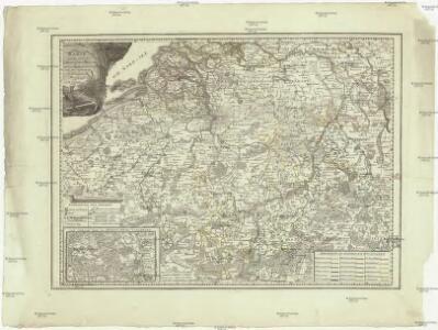 Karte von den saemtlichen Oesterreichischen Niederlanden nebst den Ausfluss der Schelde und den angrenzenden hollaendischen Provinzen