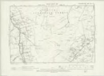Northumberland CVII.SW - OS Six-Inch Map