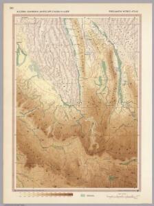 Algeria - Saharan Landscape (Tassili-N-Ajjer).  Pergamon World Atlas.