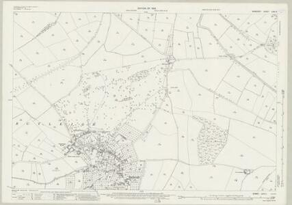 Somerset LXIII.4 (includes: Baltonsborough; Barton St David; Butleigh) - 25 Inch Map