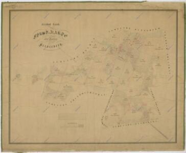 Hospodářská mapa revíru Stříbrnice
