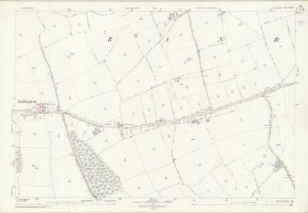 Lincolnshire LXII.8 (includes: Bullington; Goltho; Newball; Rand) - 25 Inch Map