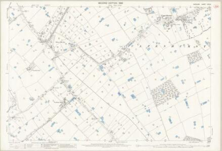 Cheshire XXXI.9 (includes: Capenhurst; Ledsham; Mollington; Puddington; Saughall; Shotwick Park; Shotwick; Woodbank) - 25 Inch Map