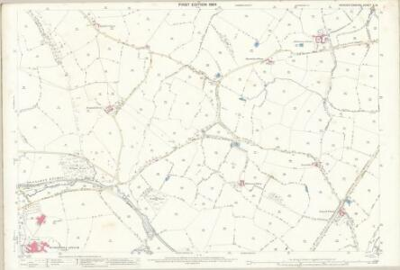 Worcestershire X.10 (includes: Birmingham; Frankley) - 25 Inch Map