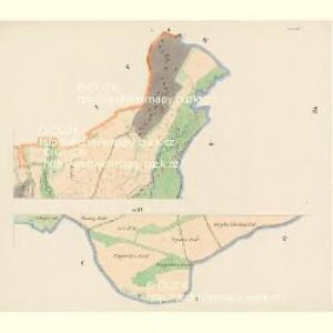 Krenau - c3622-1-007 - Kaiserpflichtexemplar der Landkarten des stabilen Katasters