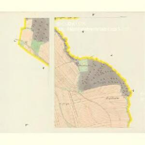Hodowitz - c1922-1-004 - Kaiserpflichtexemplar der Landkarten des stabilen Katasters