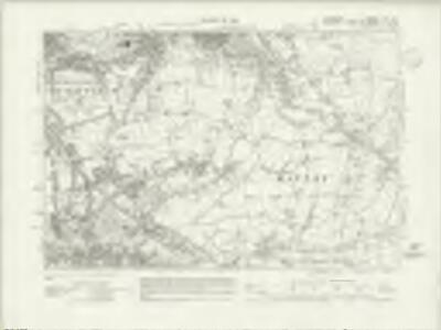 Lancashire CV.SE - OS Six-Inch Map