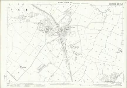 Gloucestershire XV.6 (includes: Batsford; Blockley) - 25 Inch Map
