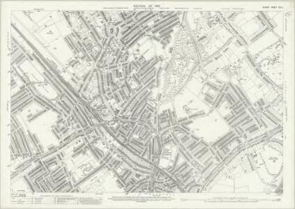 Surrey XIV.2 (includes: Croydon St John The Baptist) - 25 Inch Map