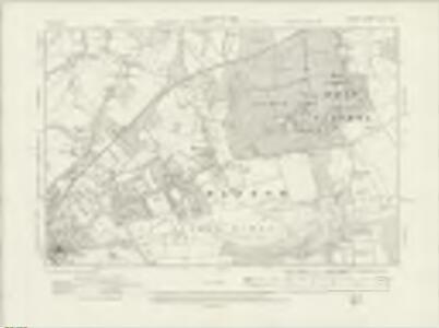 Surrey XXIV.SW - OS Six-Inch Map