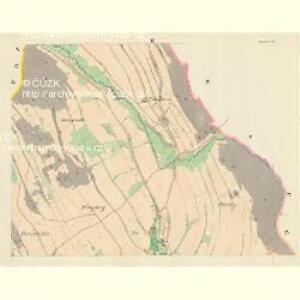 Moskelle (Moskow) - m1889-1-002 - Kaiserpflichtexemplar der Landkarten des stabilen Katasters