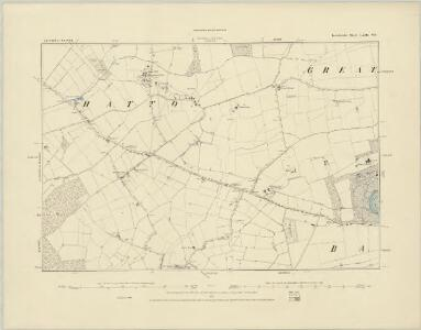 Lincolnshire LXIII.SW - OS Six-Inch Map