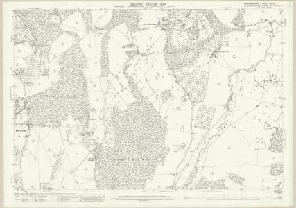 Herefordshire XLII.5 (includes: Bromsberrow; Eastnor; Ledbury Rural) - 25 Inch Map