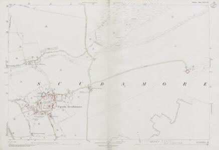 Wiltshire XLIV.16 (includes: Upton Scudamore; Warminster; Westbury) - 25 Inch Map